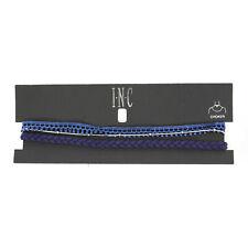 INC International Concepts Silver-Tone 3-Pc. Set Blue Choker Blue