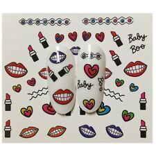 Cute Cartoon Stickers Nail Art Decals Beauty Temporary Tattoos