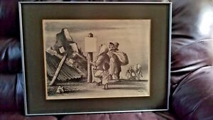 William Gropper  (American 1897-1977) The Liberated Village Signed Lithograph