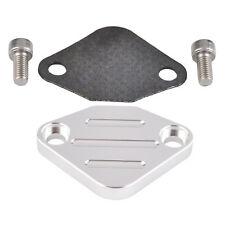 EGR Delete Plate TBI With Gaske Kit For Honda Accord Civic 1980-2006 Silver