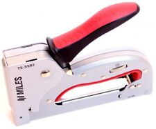 MILES Metall Hand-Tacker TS 5592 Nagler Tackern Heft-Klammern Hand-Werkzeug
