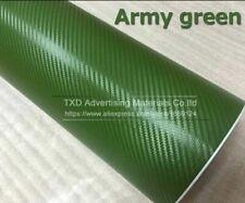 3d Carbon Fiber Film Vinyl Sticker Car Bodyinterior Decoration 3d Wrap 16 Color