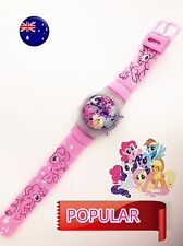 Girl Kid Children Pink My Little Pony unicorn Digital Wrist Watch birthday Gift