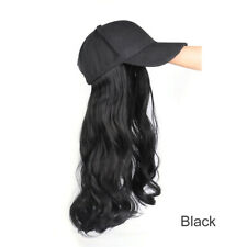 Cap Wig Hat Full Long Wavy Curly Cosplay Women Halloween Party Club Girl Hair
