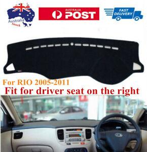 RHD Dashboard Dash Mat Dash Cover Anti-sun For KIA RIO 2005-2011
