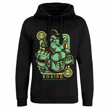 Gorilla Boxing Sport Hoodie Championship King Ring Gloves Fight Hard Ny New D798
