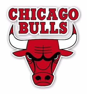 Chicago Bulls  Decal / Sticker Die cut