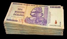 50 x Zimbabwe 10 Billion Dollar bank notes -1/2 bundle-paper money currency