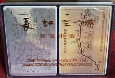 New Oriental Playing Cards The Three Gorges Of The Yangtze River Gift Set China
