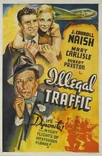 ILLEGAL TRAFFIC Movie POSTER 27x40 J. Carrol Naish Mary Carlisle Robert Preston
