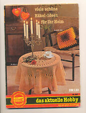 L' attuale LANA HOBBY rödel 852 häkel-idee per l'home ricamare mettili