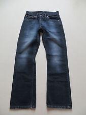 Levi's ® 507 Bootcut Jeans Hose W 29 /L 32, Schwarz ! Black washed Denim, KULT !
