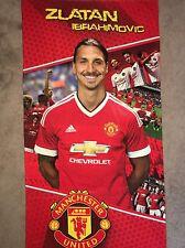 NEW!!! FC Zlatan Ibrahimovic Manchester United Beach/Gym/Bath Towel 140Cm X 70Cm