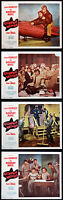 CLIPPED WINGS LEO GORCEY HUNTZ HALL BOWERY BOYS 1956 FOUR LOBBY CARDS
