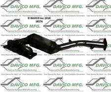 Catalytic Converter-Exact-Fit Cat Converter - Manifold Davico Exc CA 18274