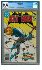 Batman #333 (1981) Bronze Age DC King Faraday Appears CGC 9.4 White Pages FF142