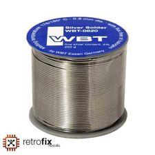 WBT-0820 - 4% Silver 0.8mm Leaded Solder - Halogen Free - 1m / 3.3ft Cut lengths