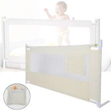 180cm Bettschutzgitter Kinderbettgitter Babybettgitter Rausfallschutz Baby CU 05