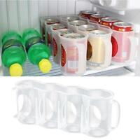 Beers Soda Cans Holder Storage Home Kitchen Organization Fridge Rack Plastic