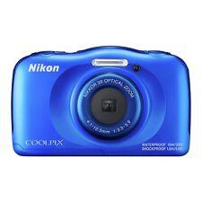 Nikon CoolPix W100 13MP Waterproof Camera - Blue.