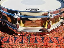 Pearl Free Floating snare drum (Brass)