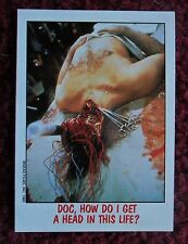 1988 Topps FRIGHT FLICKS Horror Movies Trading Card #6 ~ DAY OF THE DEAD
