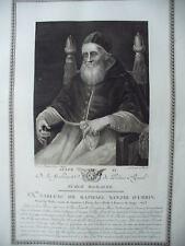 GIULIO II   - 1786 PALAIS ROYALE  -  RAFFAELLO SANZIO DI URBINO