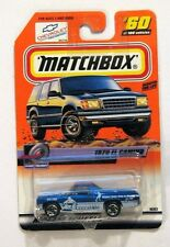 Matchbox 1970 Chevrolet El Camino, Blue Version, Mint on It's Card