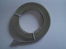 Netzwerkkabel Flachkabel 3m vergoldet RJ45 8P/8C Netzwerk Kabel dünn flach NEU