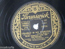 78rpm RUSS MORGAN ORCH charlie is my darling / metro polka