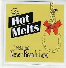 (CA381) The Hot Melts, Never Been In Love - 2008 DJ CD
