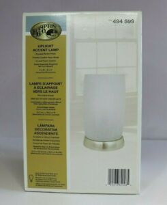 HAMPTON BAY Uplight Accent Lamp 8.5 Inch Contemporary Design Shade Light