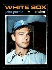 1971 Topps #748 John Purdin White Sox EX-MT *j9