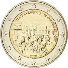 EUR, Malte, 2 Euro Majorité représentative 2012 #85025