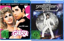 2 Blu-rays * JOHN TRAVOLTA SET ( GREASE + SATURDAY NIGHT FEVER) # NEU OVP +