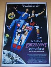 Bill and Ted's Excellent Adventure 11X17 Movie Poster Alex Winter Diane Franklin