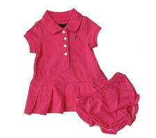 NEW Tommy Hilfiger Baby Girl Classic Short Sleeve Polo Dress  - $0 Free Ship
