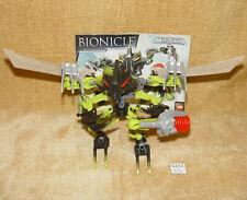 LEGO Sets: Bionicle Mistika 8695-1 Gorast (2008) 99% with INSTRUCTIONS & BLASTER