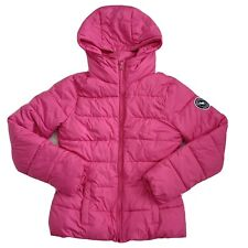 NEW Pink Abercrombie Puffer Winter Coat Girls