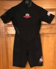 Wetsuit Wet Suit HO Sports Short Sleeve - Women's - Black - Size 10 Freedom Flex