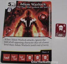 ADAM WARLOCK THE MAN WHO STALKED STARS 81 Guardians of Galaxy Dice Masters Rare