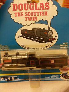 ERTL Thomas the Tank Engine & Friends #4047  Douglas- NEW on card, 1992 Die-cast