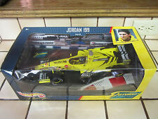 1/18 Hot Wheels Carreras Damon Hill Jordan 199 Gran Premio 1999 Mattel