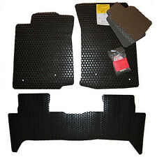 2007-2014  Toyota FJ Cruiser TRD ALL WEATHER Floor Mats - Black Tan Grey Clear