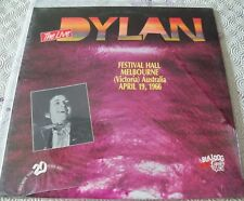 "BOB DYLAN ""LIVE FESTIVAL HALL MELBOURNE APRIL 1966"" PINK LP FIRST PRESS BULLDOG"