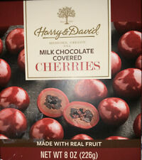 Harry and David Milk Chocolate Covered Cherries 8 ounces.