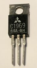 GENUINE Mitsubishi 2SC1969 Output Transistor PA used in CB Radios RF Amplifiers