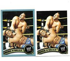 TOPPS WWE BORN GRAND RAPIDS MICHIGAN 2 CONOR O' BRIAN OR KONNOR WRESTLING CARDS