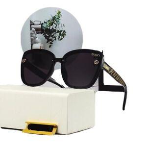 Sunglasses Fashion Design Tortoise Black Frame Hip Hop Style Square Shades