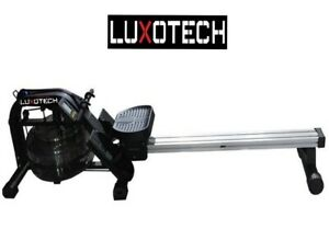 Rowing Machine Water Rower Cardio Fitness Home Gym Outdoor Training LUXOTECH